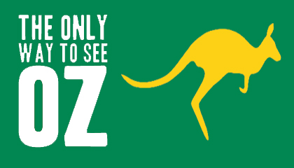 the only way to see oz
